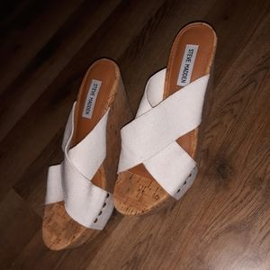 Steve Madden Wedge Sandals Women's Size 10M